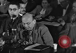 Image of HUAC hearing are you now or have you ever been communist Washington DC, 1947, second 3 stock footage video 65675054212