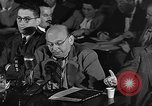 Image of HUAC hearing are you now or have you ever been communist Washington DC USA, 1947, second 4 stock footage video 65675054212