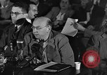 Image of HUAC hearing are you now or have you ever been communist Washington DC USA, 1947, second 5 stock footage video 65675054212