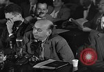 Image of HUAC hearing are you now or have you ever been communist Washington DC, 1947, second 9 stock footage video 65675054212