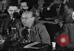 Image of HUAC hearing are you now or have you ever been communist Washington DC, 1947, second 15 stock footage video 65675054212