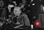 Image of HUAC hearing are you now or have you ever been communist Washington DC, 1947, second 18 stock footage video 65675054212