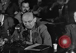 Image of HUAC hearing are you now or have you ever been communist Washington DC, 1947, second 20 stock footage video 65675054212