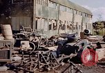 Image of German airfield Nuremberg Germany, 1945, second 4 stock footage video 65675054236