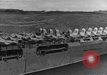 Image of USS Lexington heading into the Pacific in World War II Pacific Ocean, 1942, second 9 stock footage video 65675054241