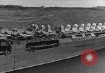 Image of USS Lexington heading into the Pacific in World War II Pacific Ocean, 1942, second 11 stock footage video 65675054241