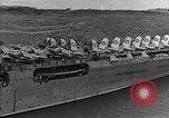 Image of USS Lexington heading into the Pacific in World War II Pacific Ocean, 1942, second 12 stock footage video 65675054241