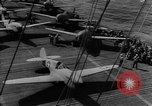 Image of USS Lexington (CV-2) attacked by Japanese airplanes Pacific Theater, 1942, second 3 stock footage video 65675054242