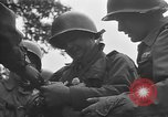 Image of tank infantry team Europe, 1953, second 9 stock footage video 65675054258