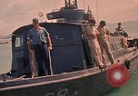 Image of patrol boats Vietnam, 1969, second 7 stock footage video 65675054282