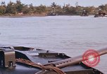 Image of Mobile Riverine Force Mekong Delta Vietnam, 1968, second 10 stock footage video 65675054290