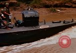 Image of Mobile Riverine Force boats Vietnam War Mekong Delta Vietnam, 1968, second 3 stock footage video 65675054295