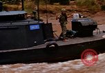 Image of Mobile Riverine Force boats Vietnam War Mekong Delta Vietnam, 1968, second 5 stock footage video 65675054295