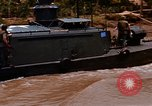 Image of Mobile Riverine Force boats Vietnam War Mekong Delta Vietnam, 1968, second 8 stock footage video 65675054295