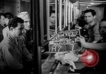 Image of Italian Prisoners of War returning to Italy on USS Wasp Atlantic Ocean, 1945, second 7 stock footage video 65675054313