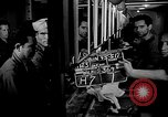 Image of Italian Prisoners of War returning to Italy on USS Wasp Atlantic Ocean, 1945, second 8 stock footage video 65675054313