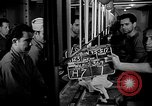 Image of Italian Prisoners of War returning to Italy on USS Wasp Atlantic Ocean, 1945, second 9 stock footage video 65675054313