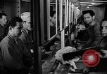 Image of Italian Prisoners of War returning to Italy on USS Wasp Atlantic Ocean, 1945, second 10 stock footage video 65675054313
