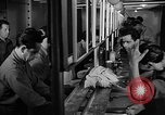 Image of Italian Prisoners of War returning to Italy on USS Wasp Atlantic Ocean, 1945, second 12 stock footage video 65675054313