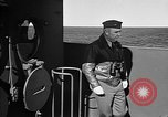 Image of Captain Wendell G.Switzer of the USS Wasp (CV-18) Atlantic Ocean, 1945, second 4 stock footage video 65675054314