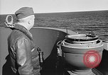 Image of Captain Wendell G.Switzer of the USS Wasp (CV-18) Atlantic Ocean, 1945, second 8 stock footage video 65675054314