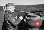 Image of Captain Wendell G.Switzer of the USS Wasp (CV-18) Atlantic Ocean, 1945, second 9 stock footage video 65675054314