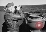 Image of Captain Wendell G.Switzer of the USS Wasp (CV-18) Atlantic Ocean, 1945, second 10 stock footage video 65675054314