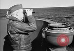 Image of Captain Wendell G.Switzer of the USS Wasp (CV-18) Atlantic Ocean, 1945, second 12 stock footage video 65675054314
