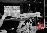 Image of Routine activities aboard the USS Wasp (CV-18) Atlantic Ocean, 1945, second 5 stock footage video 65675054315