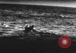 Image of Survivors  in life boats from USS Wasp (CV-7) Pacific Theater, 1942, second 3 stock footage video 65675054327
