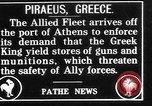 Image of Allied fleet Athens Greece, 1916, second 1 stock footage video 65675054338