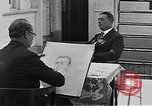 Image of Count Felix Von Luckner Los Angeles California USA, 1942, second 7 stock footage video 65675054339