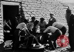 Image of French Marines unload small rail car Syria, 1916, second 5 stock footage video 65675054340