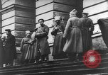 Image of Vladimir Lenin addressing crowd Moscow Russia Soviet Union, 1917, second 8 stock footage video 65675054348