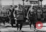 Image of German and Russian military officers First World WAr Russia, 1916, second 5 stock footage video 65675054349