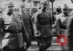 Image of German and Russian military officers First World WAr Russia, 1916, second 9 stock footage video 65675054349