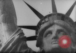 Image of Communist rally in favor of Soviet republic New York City USA, 1921, second 2 stock footage video 65675054354