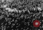 Image of Communist rally in favor of Soviet republic New York City USA, 1921, second 6 stock footage video 65675054354