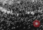 Image of Communist rally in favor of Soviet republic New York City USA, 1921, second 7 stock footage video 65675054354