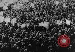 Image of Communist rally in favor of Soviet republic New York City USA, 1921, second 8 stock footage video 65675054354