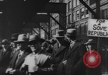 Image of Communist rally in favor of Soviet republic New York City USA, 1921, second 10 stock footage video 65675054354