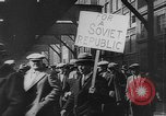 Image of Communist rally in favor of Soviet republic New York City USA, 1921, second 11 stock footage video 65675054354