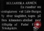 Image of Battle of Lule Burgas in First Balkan War Lule Burgas Turkey, 1912, second 7 stock footage video 65675054361