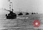 Image of French and British ships battle German ships World War 1 European Theater, 1916, second 1 stock footage video 65675054363
