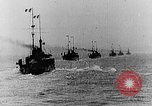 Image of French and British ships battle German ships World War 1 European Theater, 1916, second 3 stock footage video 65675054363