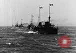 Image of French and British ships battle German ships World War 1 European Theater, 1916, second 4 stock footage video 65675054363