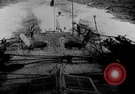 Image of Austrian battleship Szent Istvan rolls and sinks Adriatic Sea, 1918, second 3 stock footage video 65675054365
