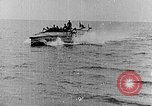 Image of Austrian battleship Szent Istvan rolls and sinks Adriatic Sea, 1918, second 10 stock footage video 65675054365