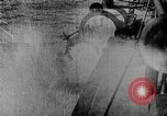 Image of Austrian battleship Szent Istvan rolls and sinks Adriatic Sea, 1918, second 11 stock footage video 65675054365