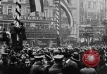 Image of British and German troops return home after armistice  Berlin Germany, 1918, second 4 stock footage video 65675054369